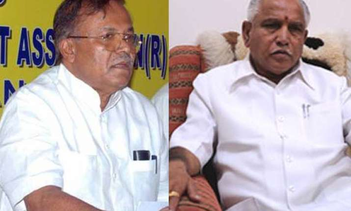 bjp sacks pro yeddy minister suspends mp in karnataka