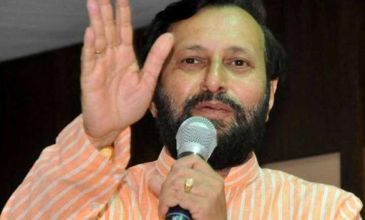 bjp slams cong for fielding sanjiv bhatt s wife against modi