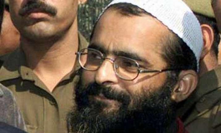 bjp wants afzal guru hanged next