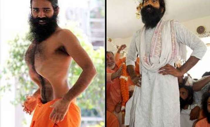 "Baba Ramdev "" from 'Yoga guru' to 'self-styled economist"
