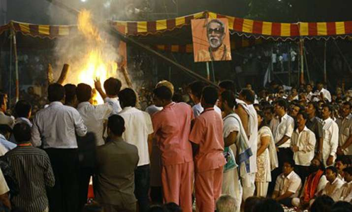 bal thackeray s ashes to be immersed in godavari on friday