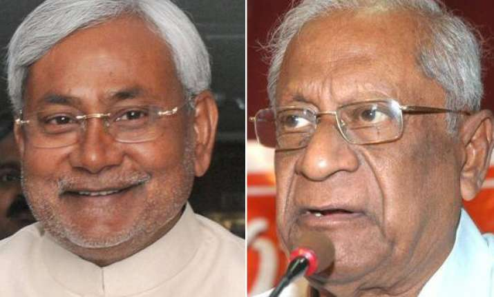 bardhan accuses nitish of having taken help of sena