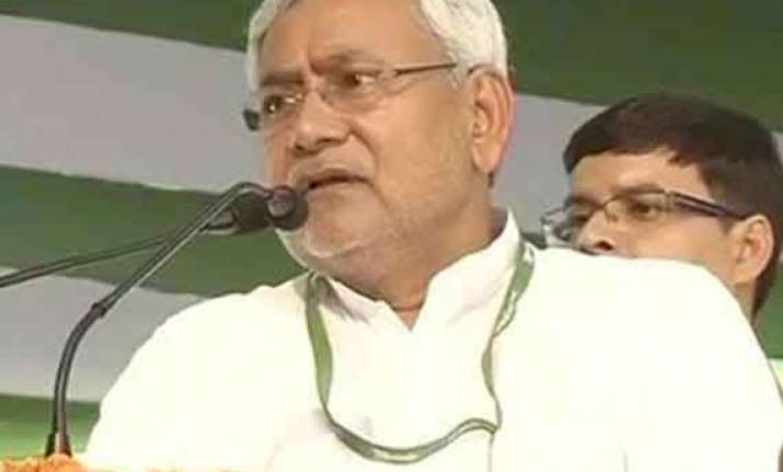 nitish resigns as bihar cm new leader likely tomorrow