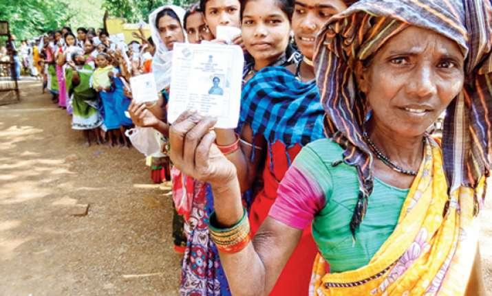 bihar votes two die in blast