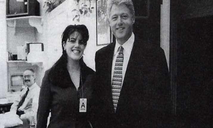 bill clinton and monica lewinsky sex scandal that shook