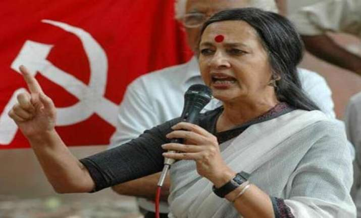brinda karat lashes out at mamata over bareilly incident