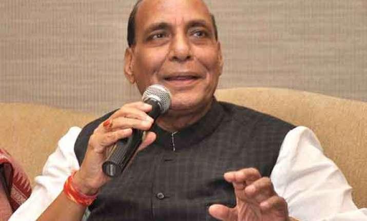 bringing economy back on track will take some time rajnath