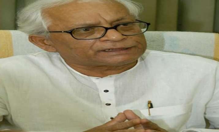 buddhadeb demands sc monitored probe into saradha scam