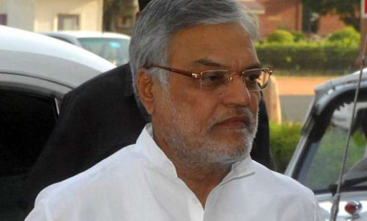 c p joshi to visit bihar to finalise congress line on nitish