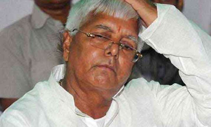 cbi court rejects lalu s plea to quash fodder scam trial