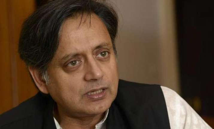 cpi youth activists attack shashi tharoor s office in kerala