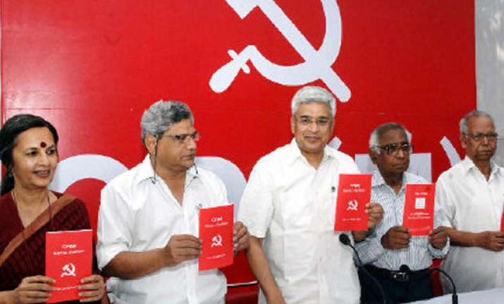 cpi m to launch protests on the lines of occupy wall street