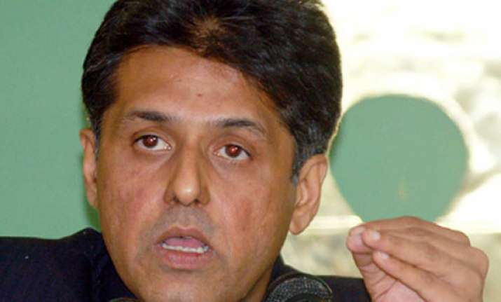 cash sops not for poll gains says manish tewari