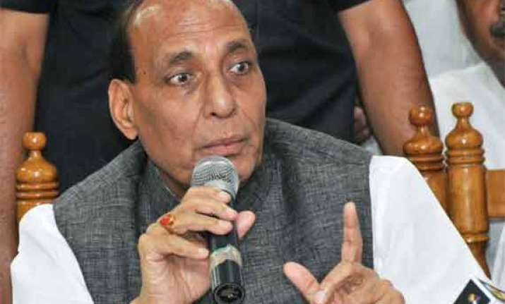 centre concerned over law and order in up says rajnath