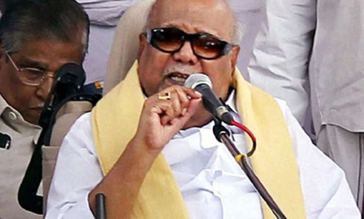 centre pays no heed to state leaders karunanidhi