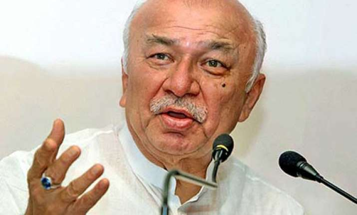 centre to decide on telangana formation day soon shinde