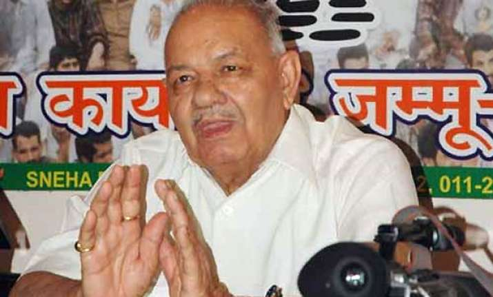 chamanlal gupta suspended from bjp