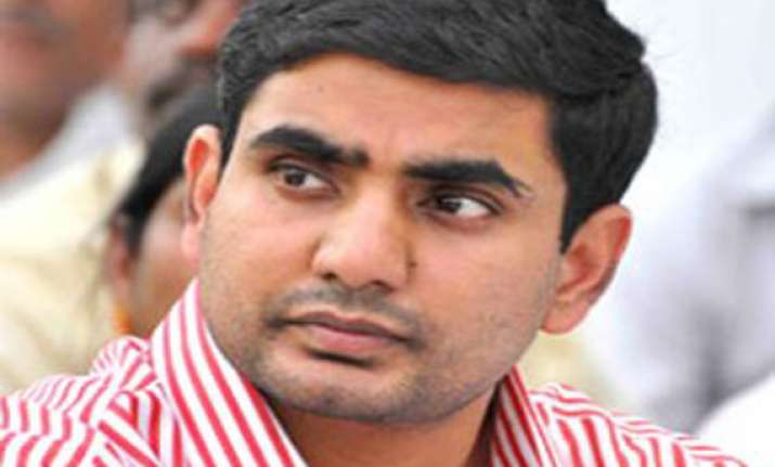 chandrababu naidu s son nara lokesh to make political debut