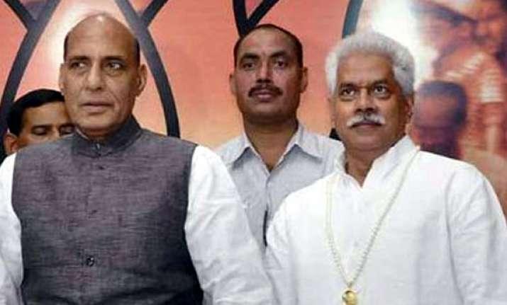 chandrashekhar s son joins bjp