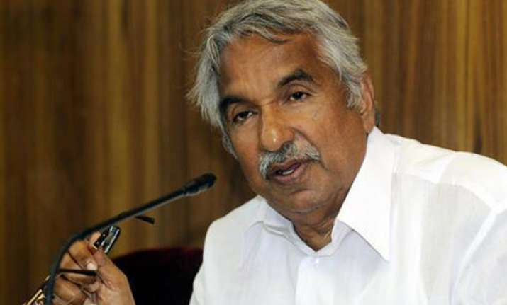 chandy says left protest cannot impinge on people s freedom
