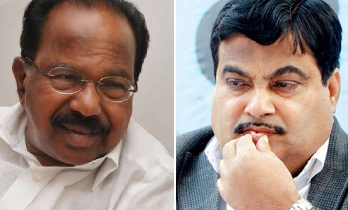 charges against gadkari company will be looked into moily