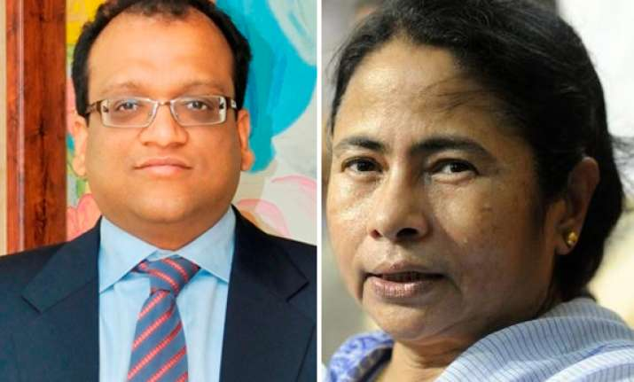 chargesheeted amri director at mamata s bash for industry