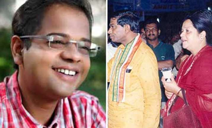 chhattisgarh polls ajit jogi s wife son among congress