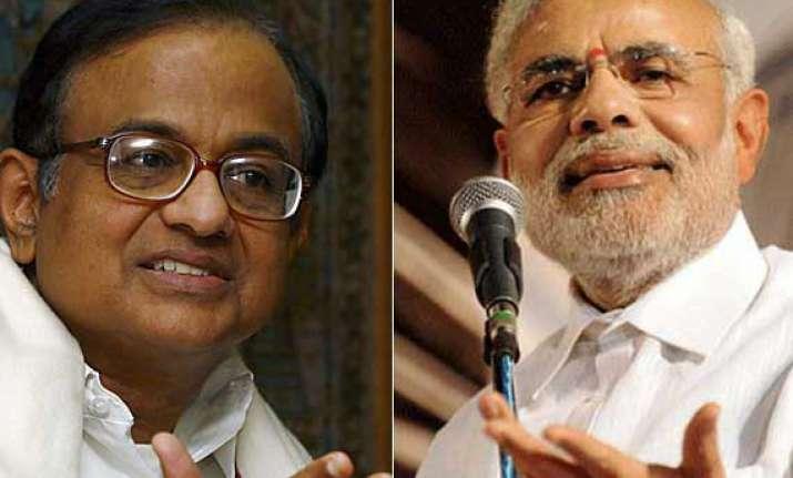 chidambaram describes modi as encounter minister compulsive