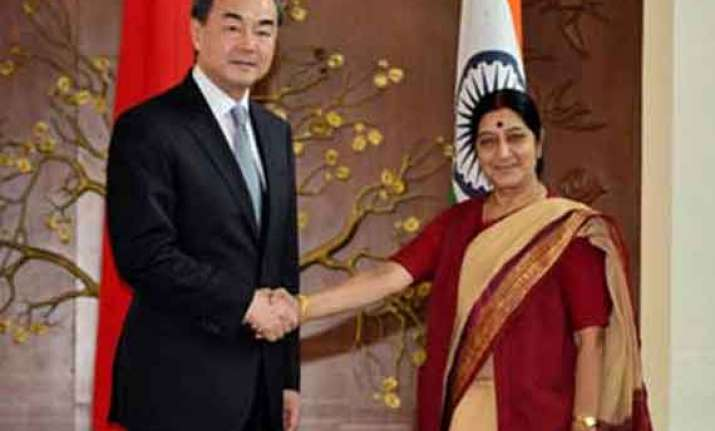 chinese minister s talks with sushma productive