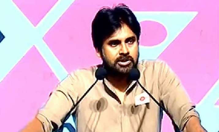 chiranjeevi s brother pawan kalyan meets modi declares