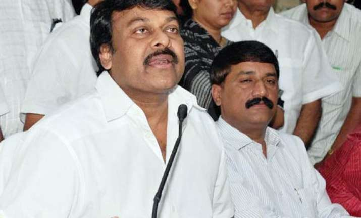 chiranjeevi wants to merge prp with congress