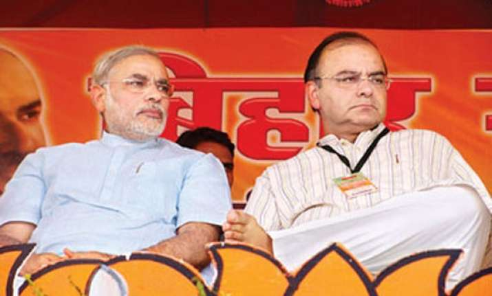 choice is between modi led nda or chaotic coalition says