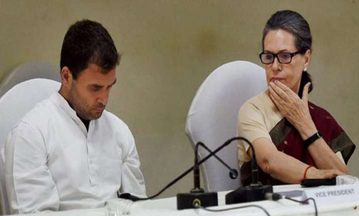clamour in congress for sonia or rahul as leader of