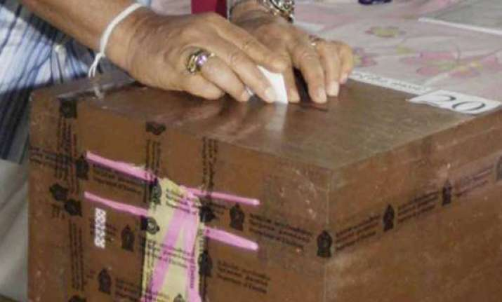 80 per cent voting in crucial ap by polls