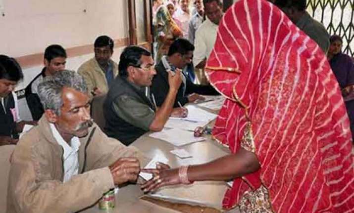 clashes mar voting in rajasthan as turnout crosses 47