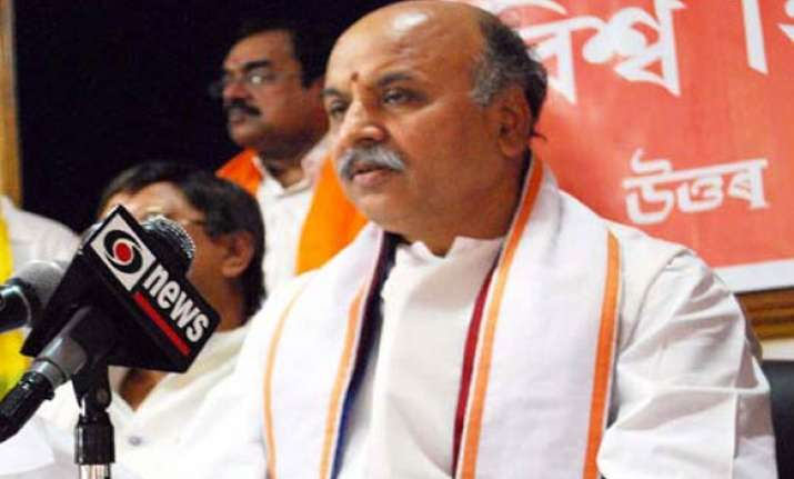 communal violence prevention bill is anti hindu says togadia