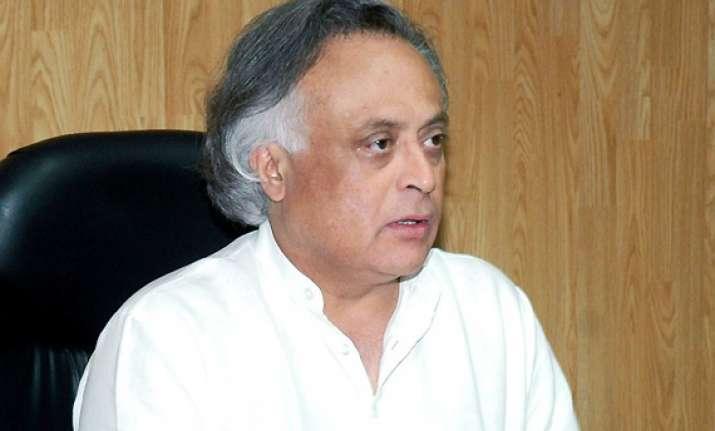 cong hasn t taken vrs will speak its mind on bengal ramesh