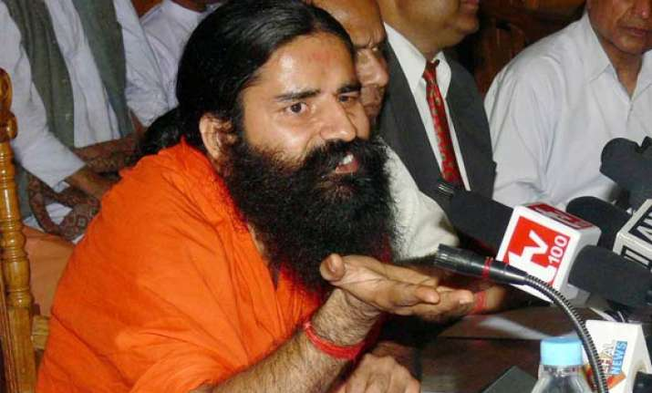 cong leaders attack baba ramdev bjp comes to his defence