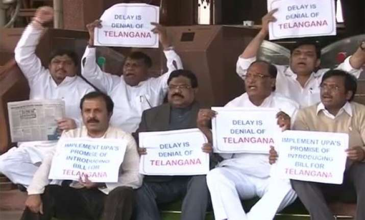 cong mps from telangana boycott party meeting on fdi