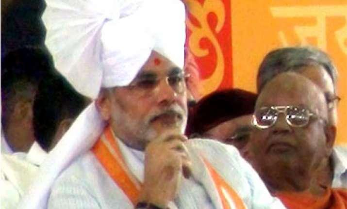 congress bjp argue over modi s marital status