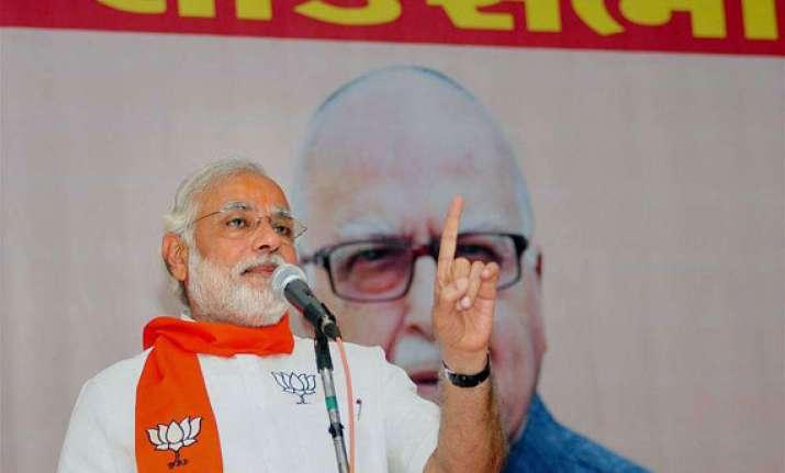 congress agenda is to establish rahul at any cost modi