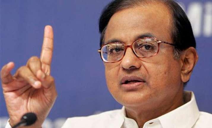 congress an underdog in ls polls chidambaram