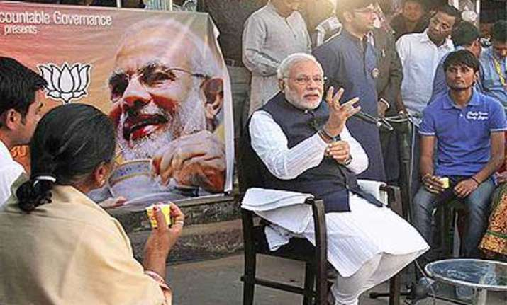 congress attacks modi over black money in gujarat