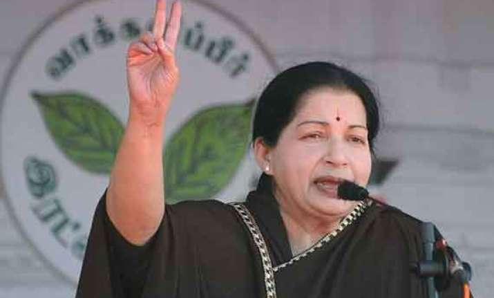 congress betrayed fishermen s interests jayalalithaa