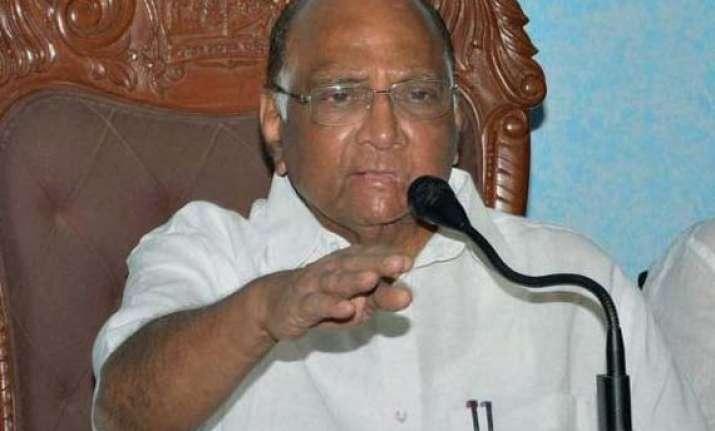 congress downplays pawar s nobody is untouchable remark