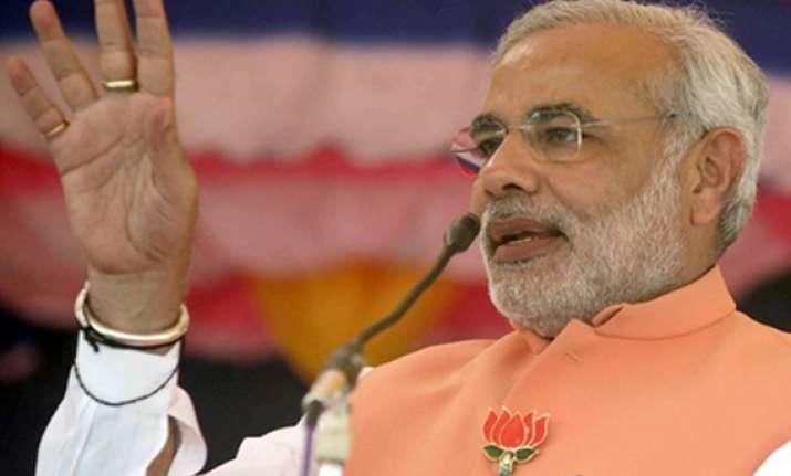 congress dubs modi s elevation a threat to bjp