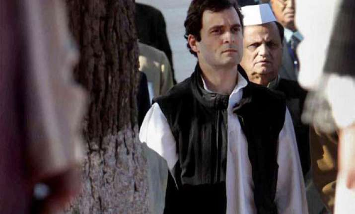 congress finalising team for 2014 polls indicates rahul