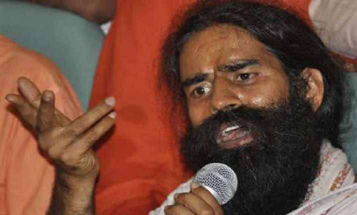 congress is a national disaster swami ramdev