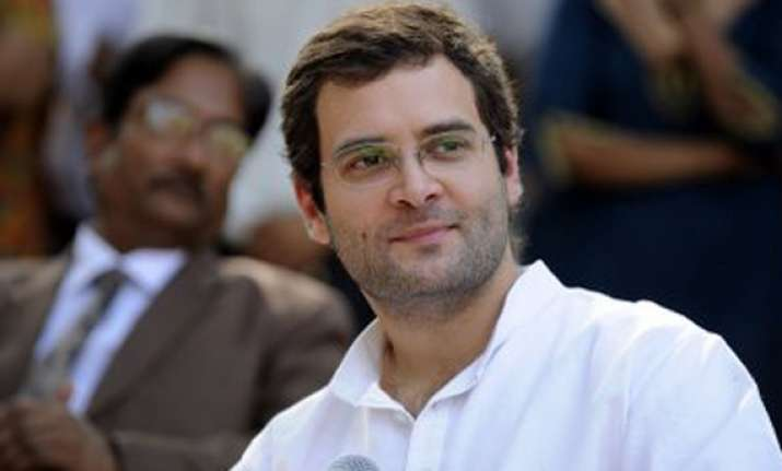 congress leader apologises for gaffe about rahul gandhi s