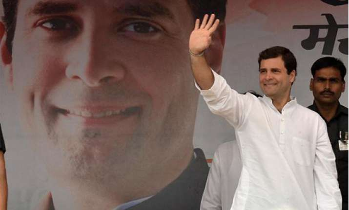 congress leaders focus on muslims during rahul rally